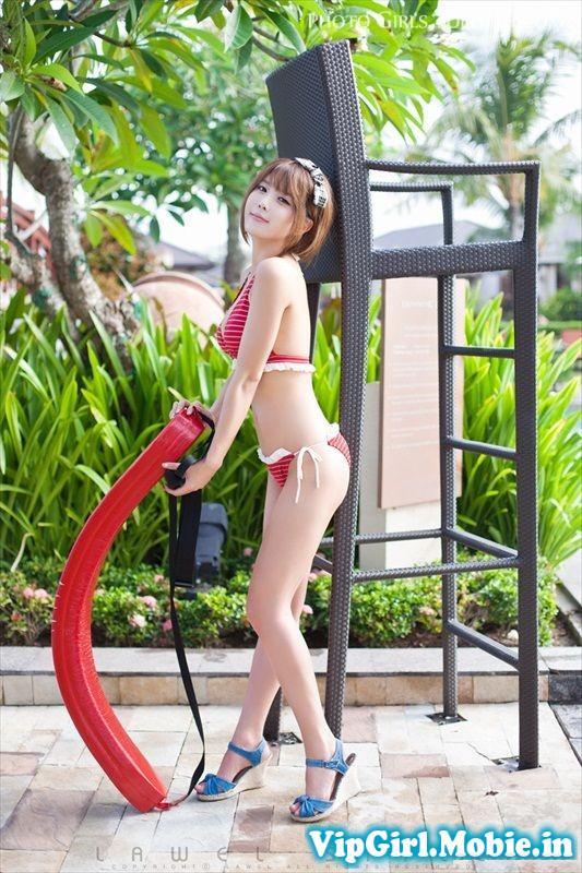 Ảnh Girl Xinh Sexy Korea Heo Yoon Mi mặc Bikini cực hot