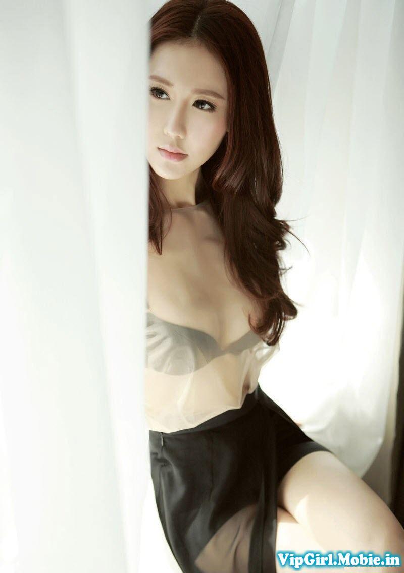 gái đẹp trung quốc Vu Vĩ Lâm khoe ngực khủng