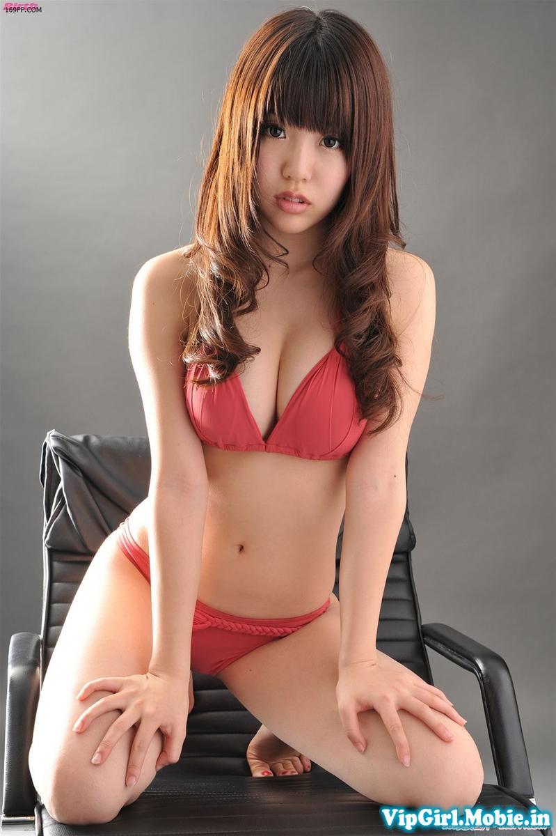 gái xinh nhật bản ngực đẹp cực sexy với bikini đỏ|raw