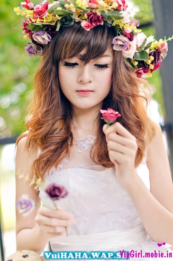 Hot girl Việt xinh đẹp dễ thương như công chúa|raw
