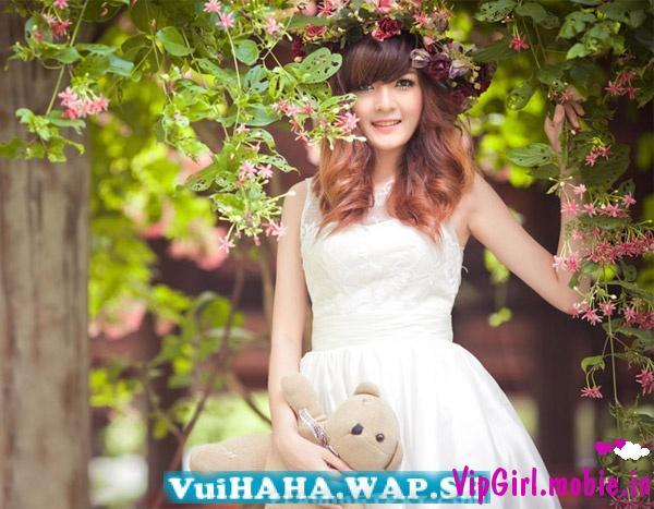 Hot girl Việt xinh đẹp dễ thương như công chúa