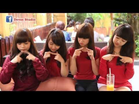 video Gái teen việt xinh xắn với điệu gwiyomi dễ thương|raw
